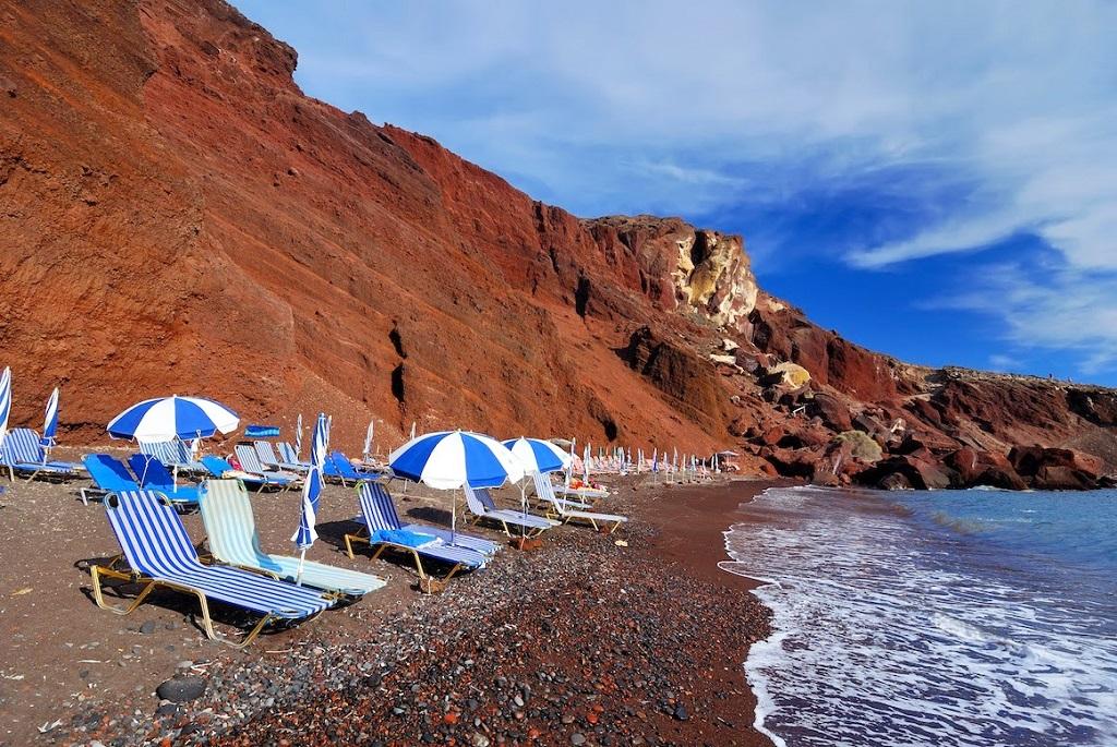 пляж Акротири