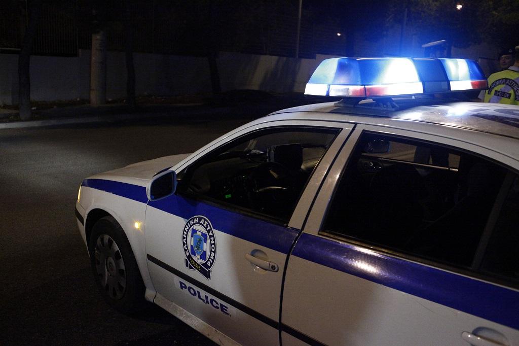 машина греческой полиции