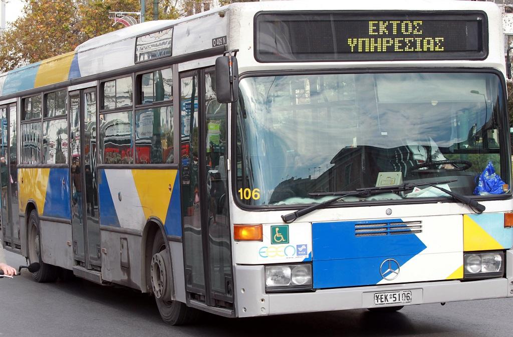 автобус Греция