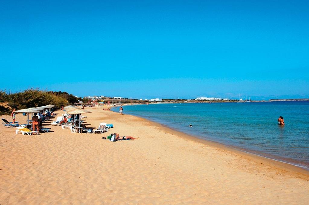 пляж Хриси Акти