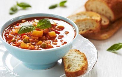 Фасолада: Греческий суп из фасоли