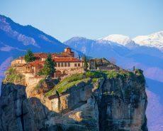 Метеоры: Парящие в воздухе монастыри