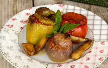 Гемиста: Фаршированные овощи