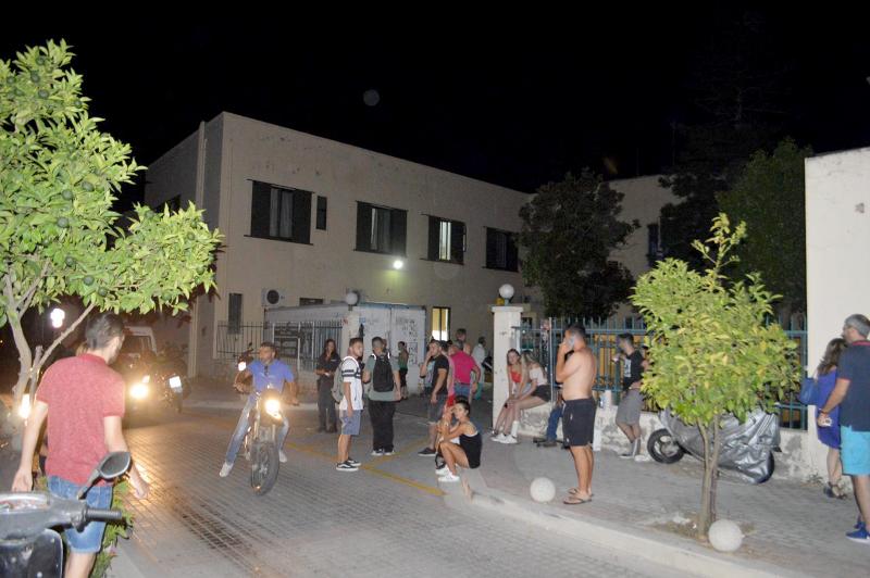 Остров Кос ночью