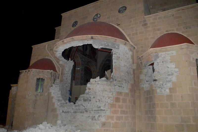 разрушена церковь
