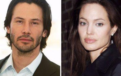 Анджелина Джоли и Киану Ривз отдыхают в Греции
