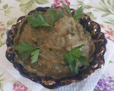 Мелидзаносалата: Закуска из печеных баклажан