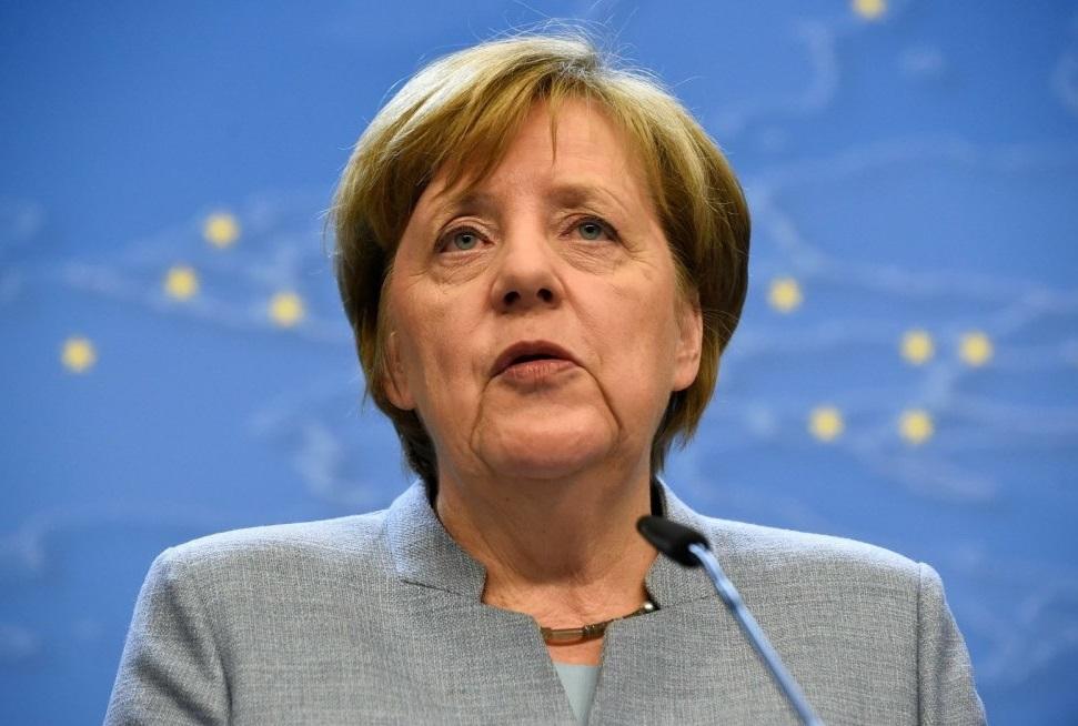 Ангела Меркель выступление