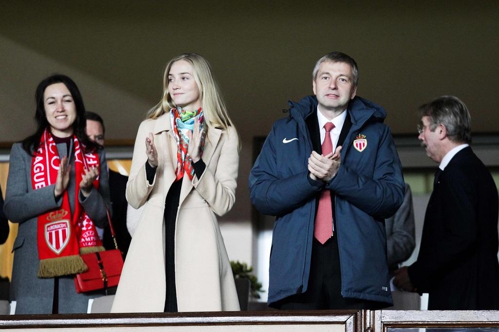 Дмитрий Рыболовлев с Анной Барсуковой