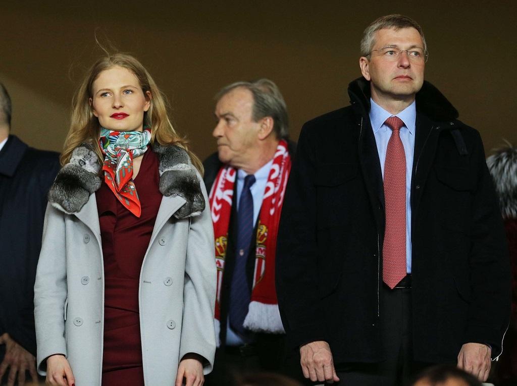 Дмитрий Рыболовлев и Екатерина Рыболовлева
