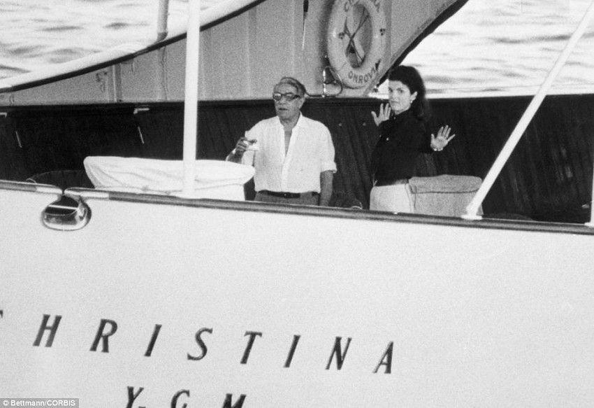 Яхта Онассиса Кристина