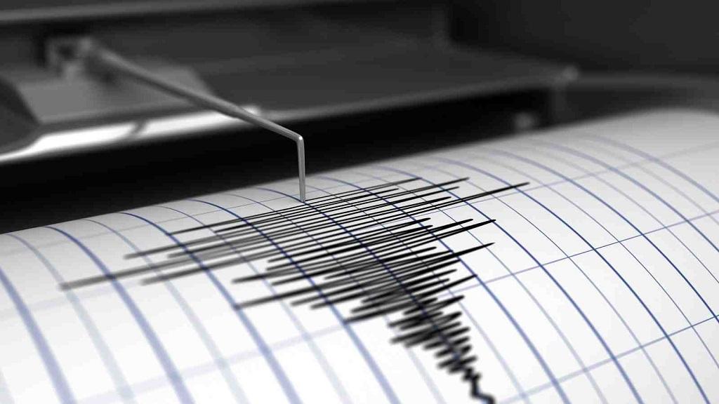 фиксация землетрясения на бумаге