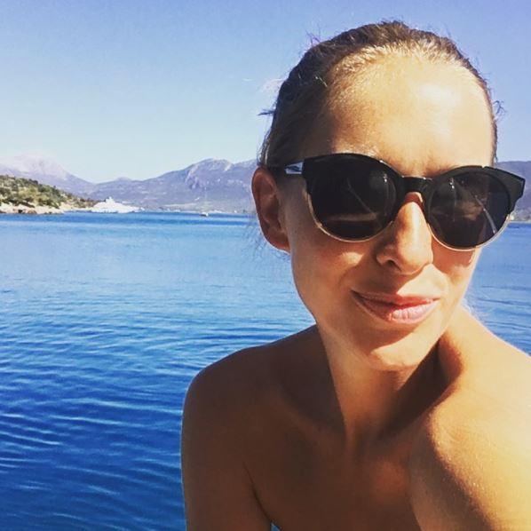 Катя Осадчая лицо