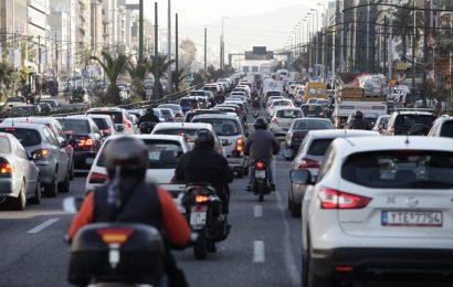 Ограничение на въезд в центр Афин