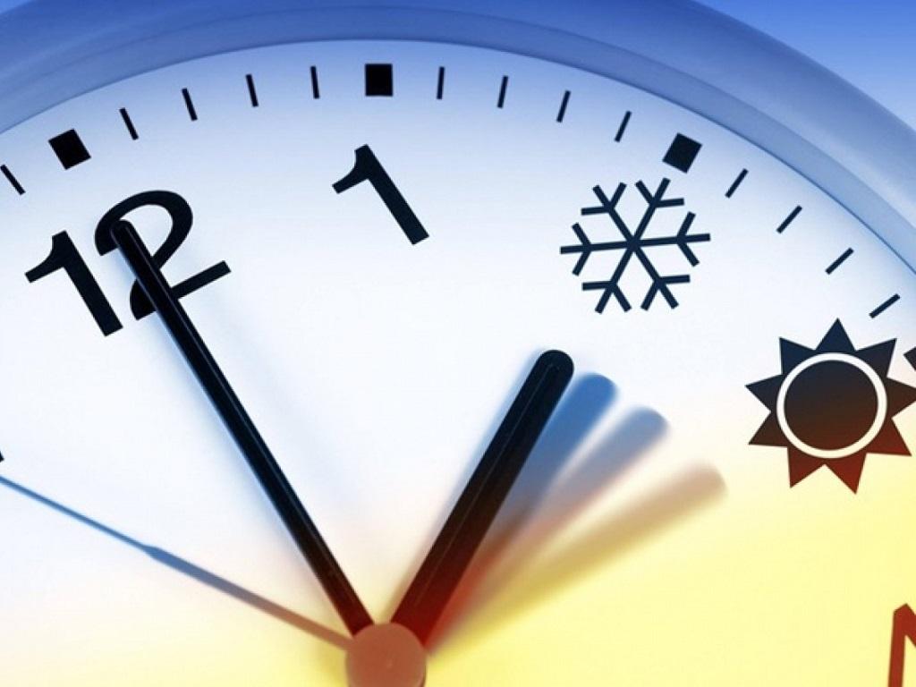 перевод на зимнее время