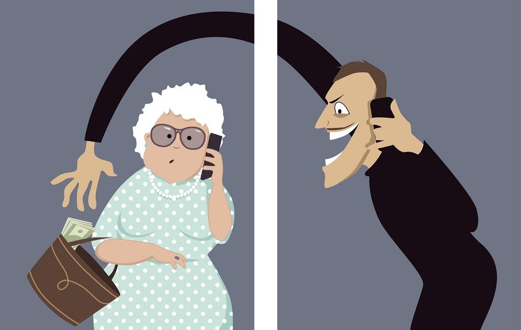телефонные мошенники крадут деньги