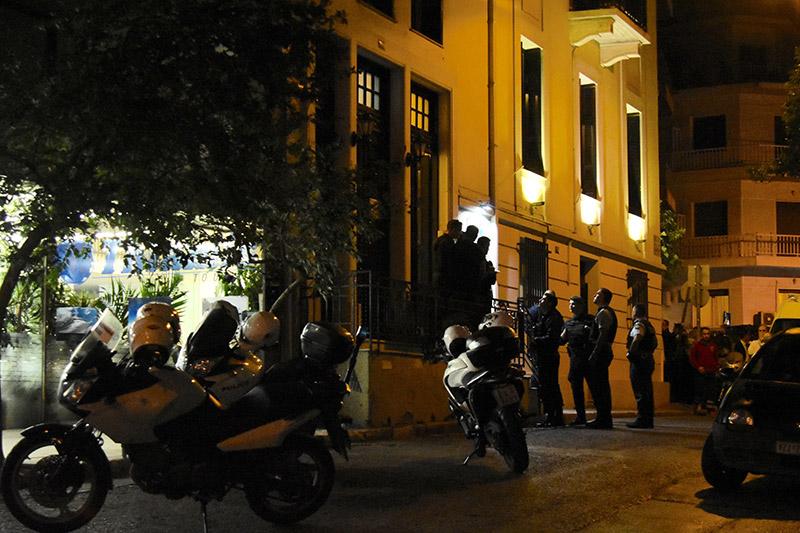 михалис зафиропулос полицейские мотоциклы убийство