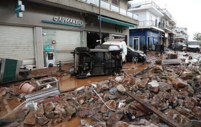 Стихийное бедствие в Греции (фото и видео)