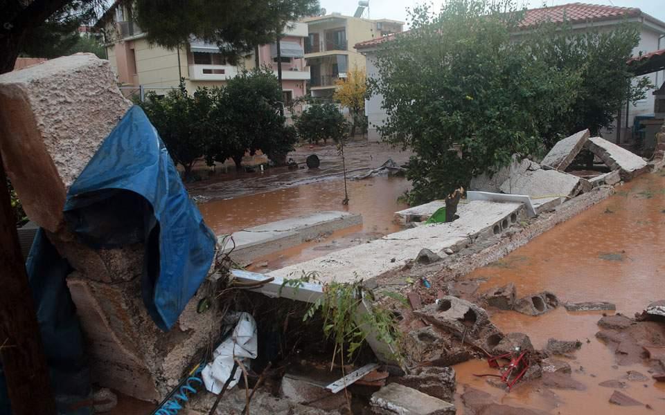 наводнение в мандре