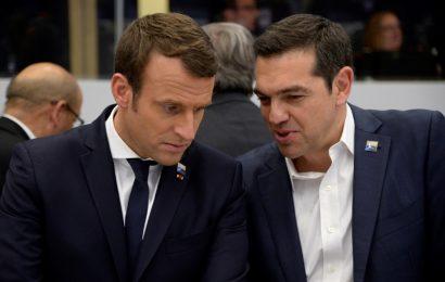 Алексис Ципрас отправляется в Париж