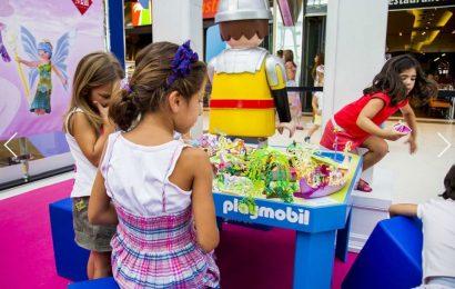 Playmobil Fun в торговом центре Athens Metro Mall