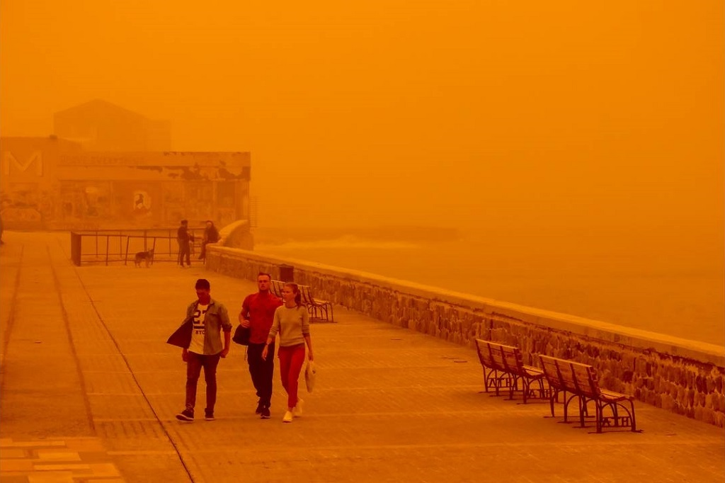 африканская пыль невозможно дышать