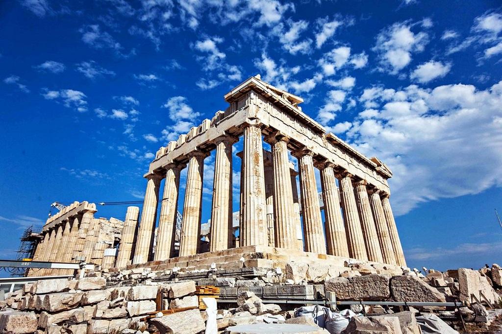 акрополь греция афины