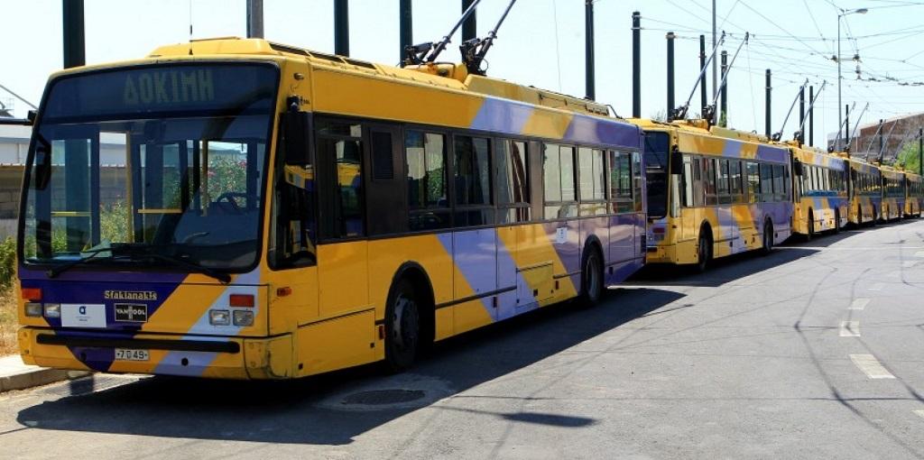 троллейбусы в афинах