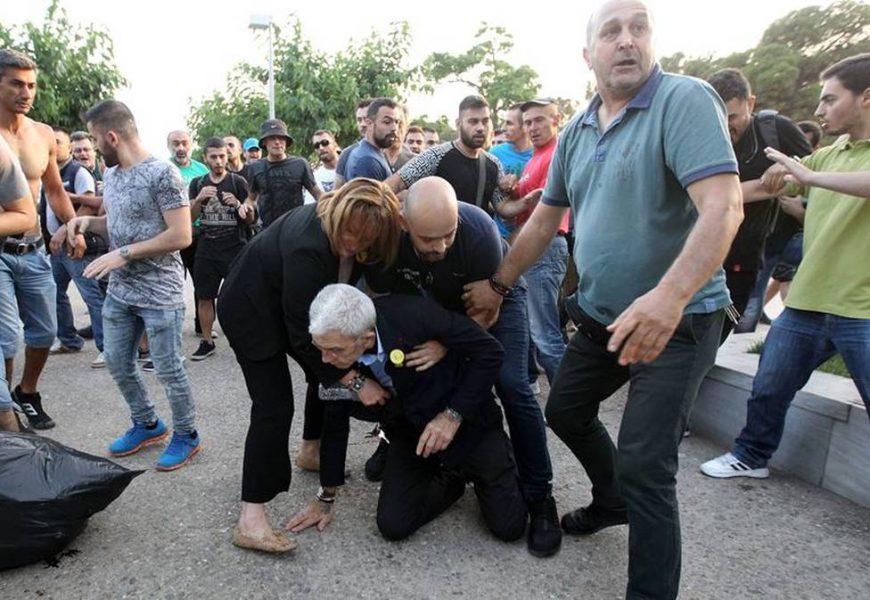 В Салониках избили мэра города