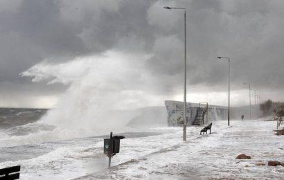 На Грецию надвигается новый мощный циклон