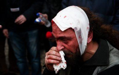 Митинг против соглашения с Македонией перерос в столкновения с полицией в центре Афин