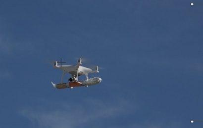 На Миконосе еду доставляют дроны